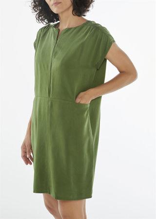 "Picture of ""Mini minimal"" dress in green"