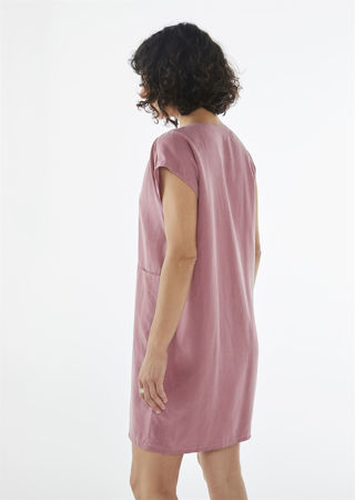 """Picture of """"Mini minimal"""" dress in pink"""