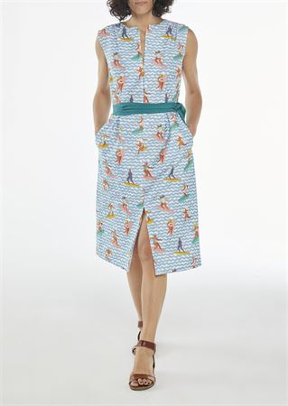"""Picture of Aline midi dress """"chubby surfers"""""""