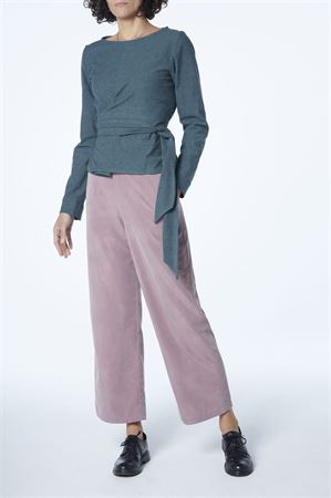Picture of  high waist pants in greyish pink
