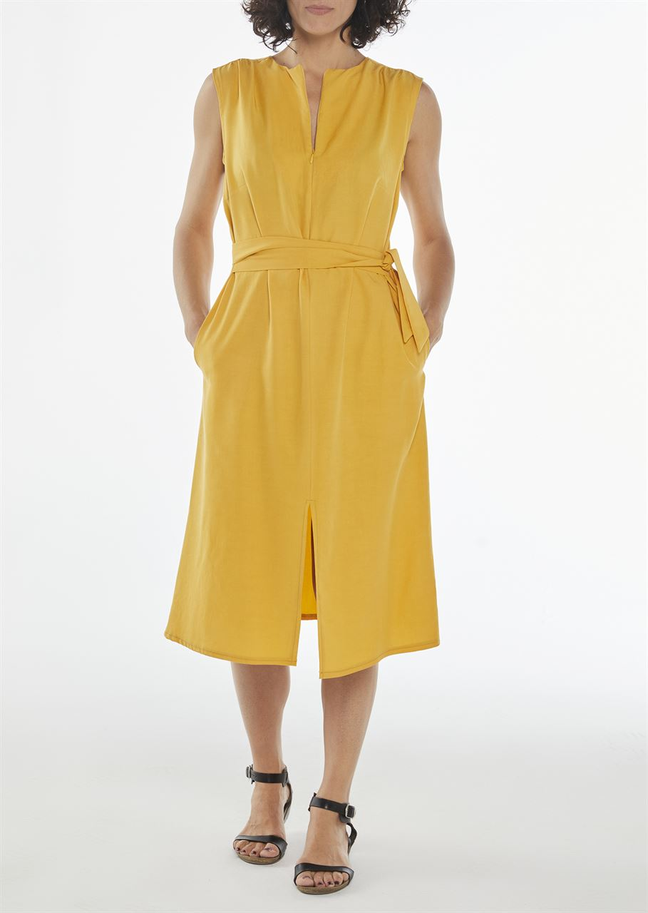 Picture of  Aline midi dress yellow