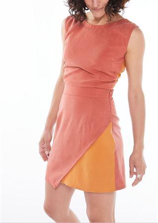 "Picture of ""peach"" mini dress"