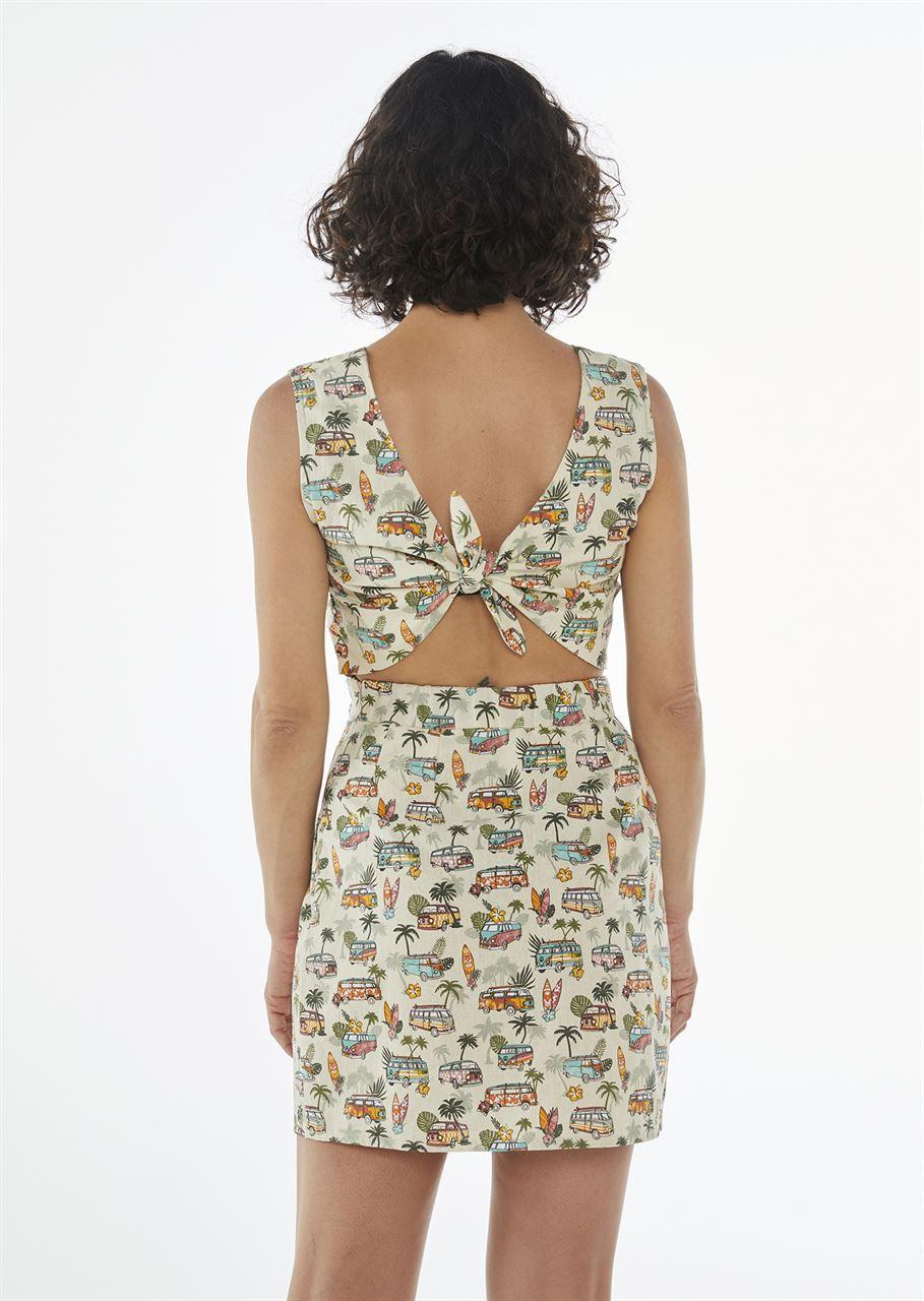 "Picture of ""surf van"" mini dress"