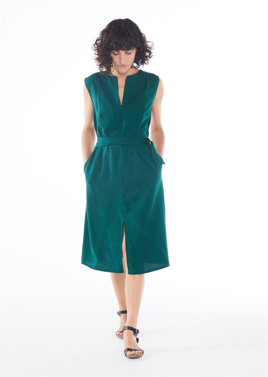 Picture of Aline midi dress green