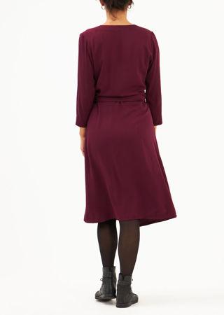 Picture of A-line midi dress magenta