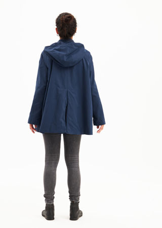 Picture of Water resistant a-line jacket in blue