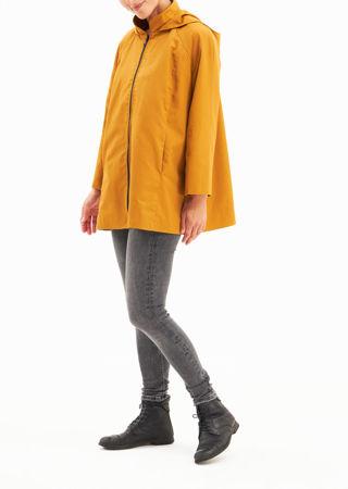 Picture of Water repellent aline jacket mustard